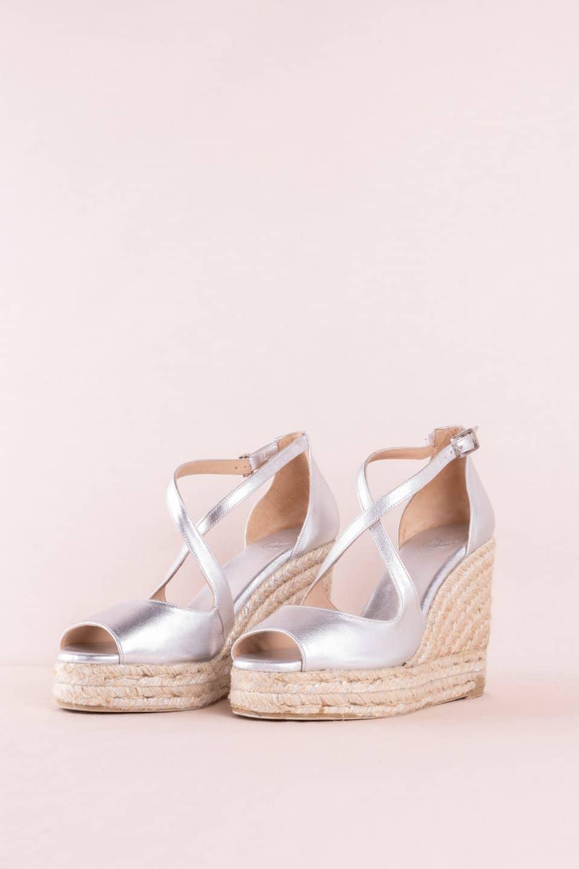 Bisse Plata Alpargatas en Loyna Shoes