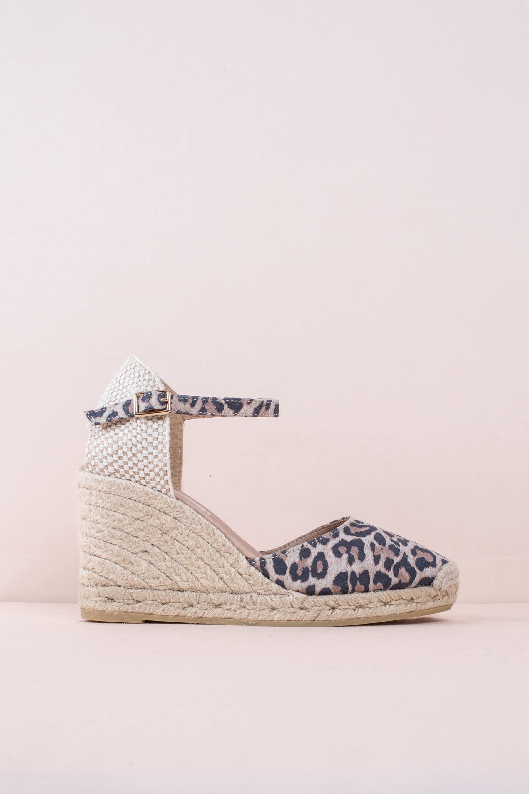 Global Leopardo Alpargatas en Loyna Shoes