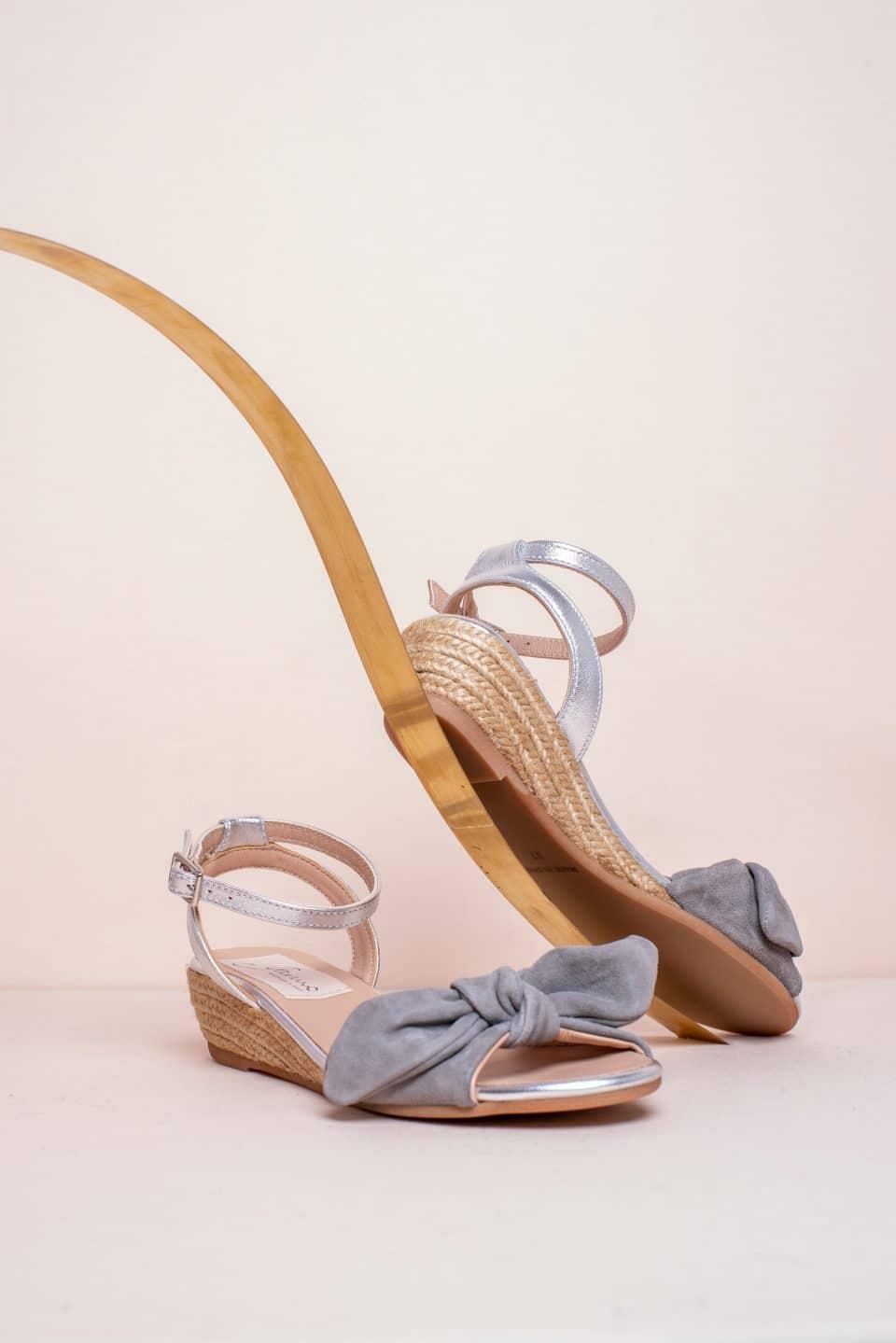 Elton Ante Cendre Alpargatas en Loyna Shoes