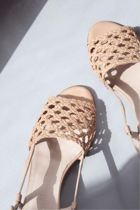 ROMY TRENZADO BEIGE Rebajas en Loyna Shoes