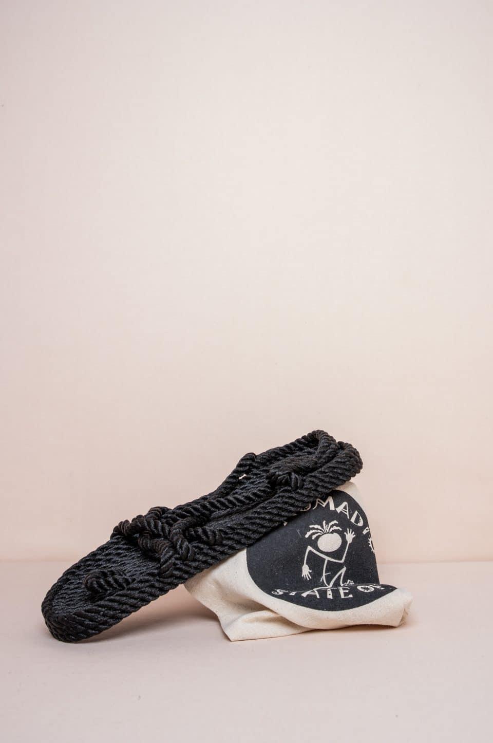 Toe Joe Black Alpargatas en Loyna Shoes