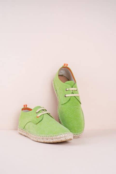 Blucher Terra Pistacho Abarca en Loyna Shoes