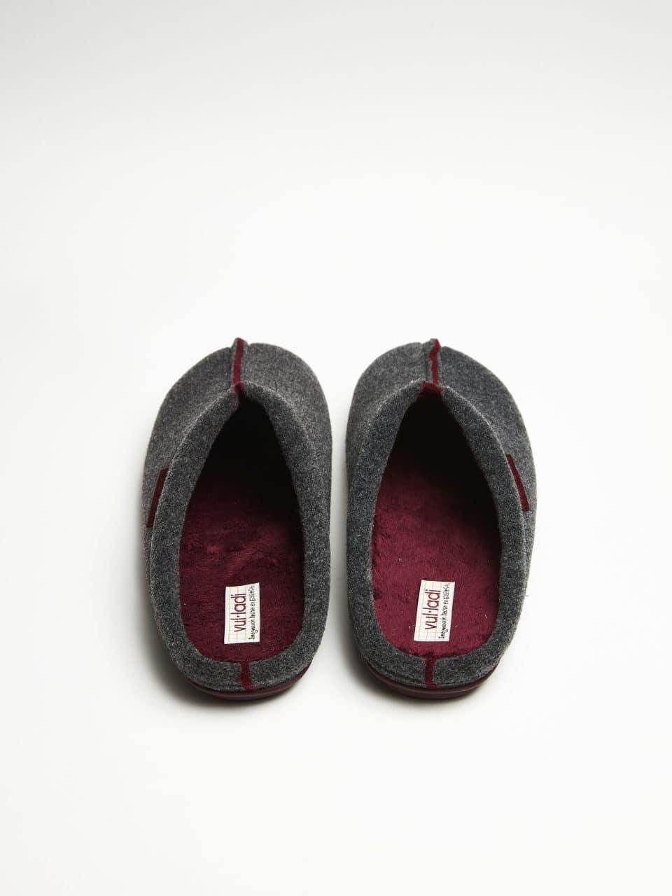 NORDIC GRIS-BURDEOS Marcas en Loyna Shoes