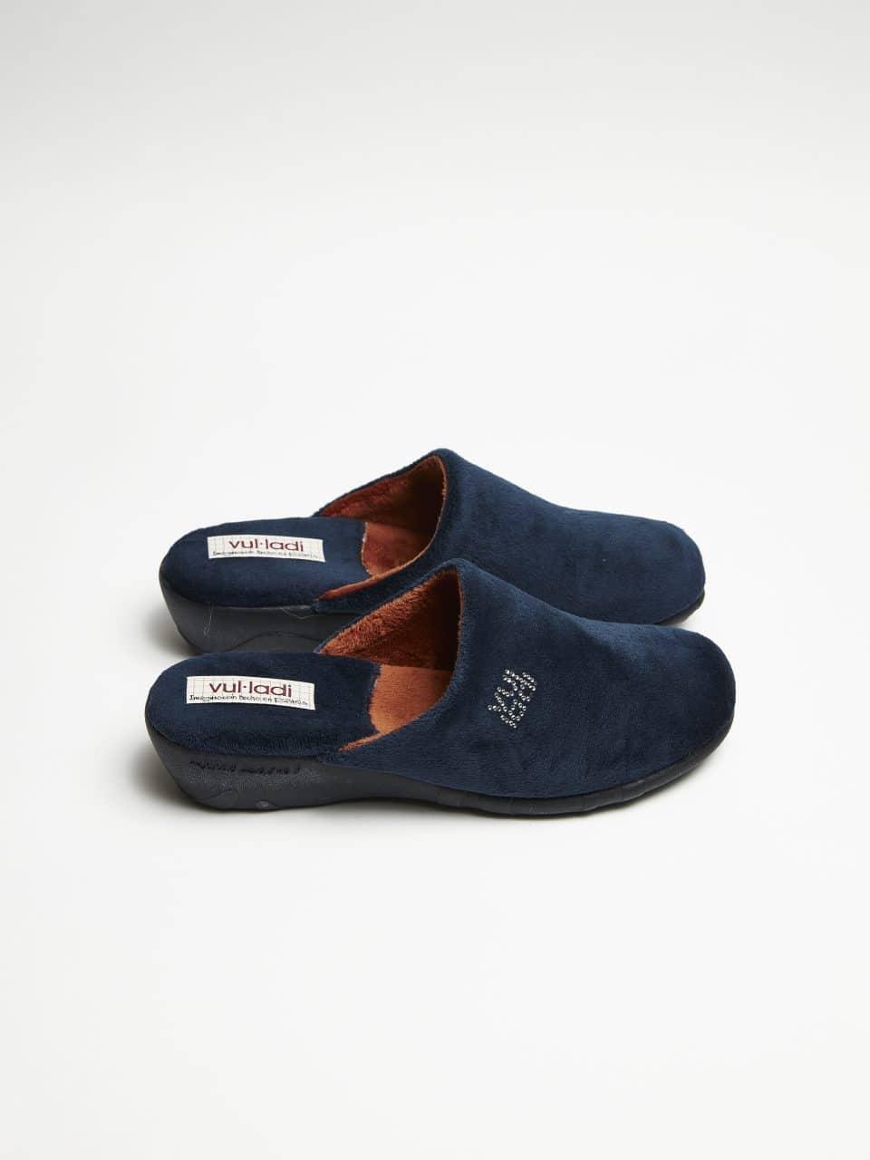 ZUECO CUÑA ALASKA MARINO Marcas en Loyna Shoes