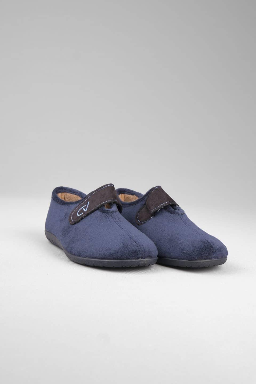 SUAPEL MARINO VELCRO Slippers en Loyna Shoes