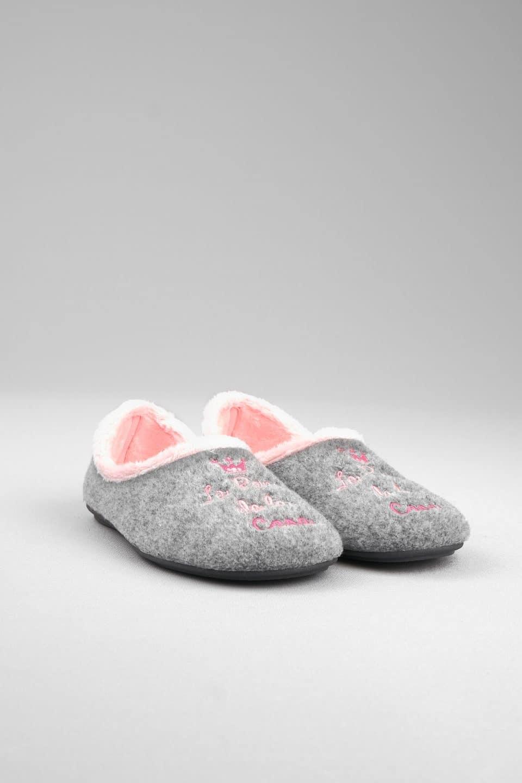 PICOS GRIS Slippers en Loyna Shoes
