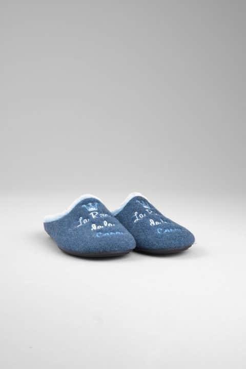 PICOS AZUL Slippers en Loyna Shoes