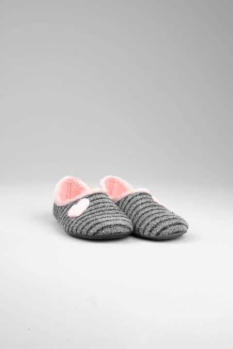 NATALIA GRIS Slippers en Loyna Shoes