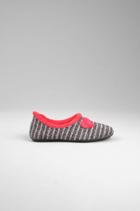 NATALIA ANTRACITA Slippers en Loyna Shoes