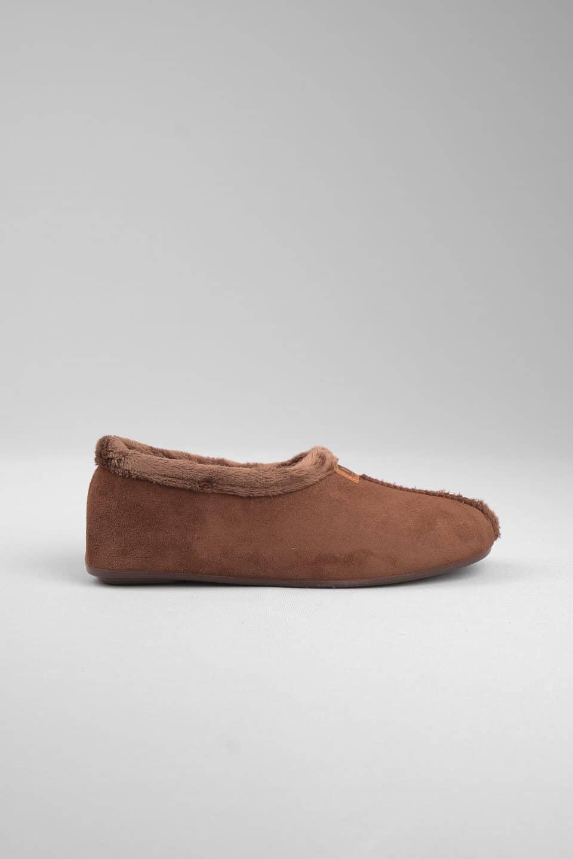 BABUCHA MARRON Marcas en Loyna Shoes