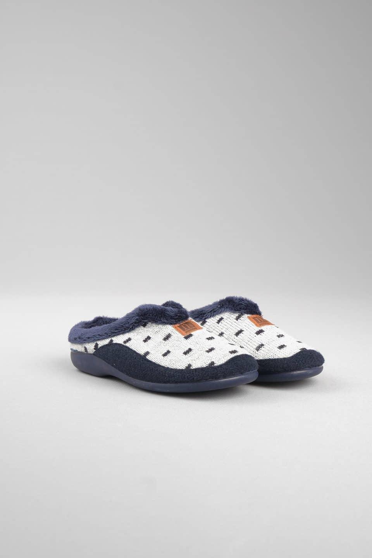 ZUECO TOPOS MARINO Marcas en Loyna Shoes