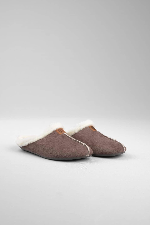 ZUECO BABUCHA GRIS Marcas en Loyna Shoes