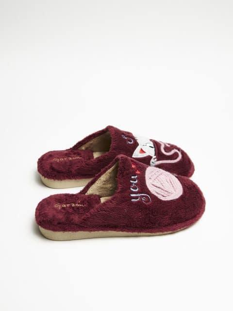 MONTLIS YOU & ME BURDEOS Garzón en Loyna Shoes