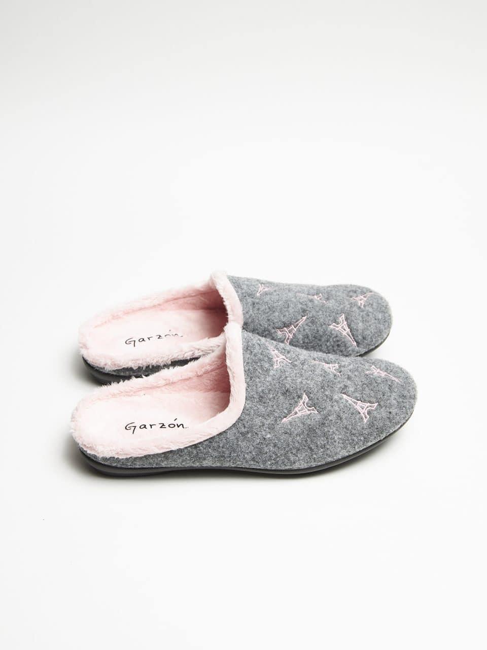 PICOS PARIS GRIS ROSA Garzón en Loyna Shoes