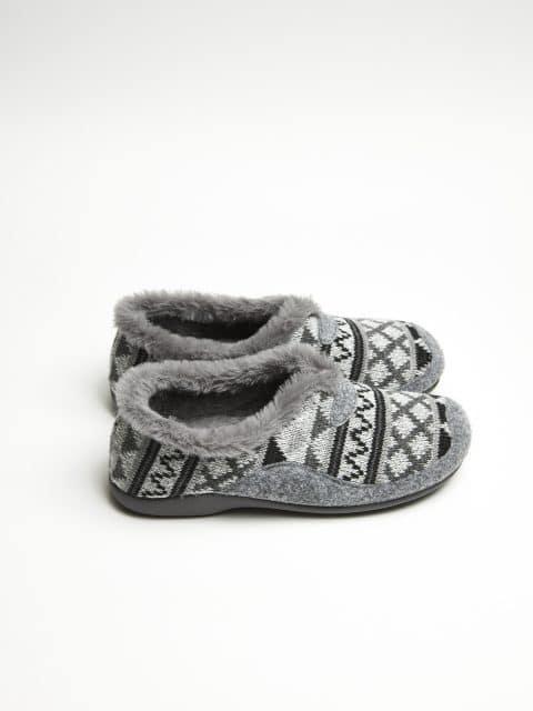 LANA TRIANGULOS GRIS OSC Garzón en Loyna Shoes