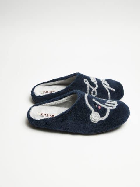 ZUECO MONTBLANC MARINO Slippers en Loyna Shoes