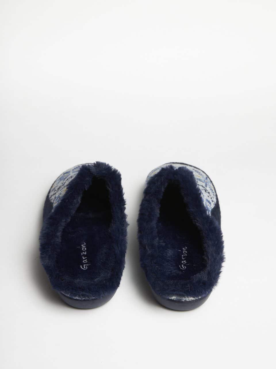 ZUECO LANA ELENA MARINO Garzón en Loyna Shoes