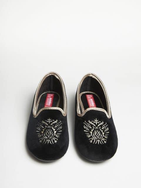 SLIPPER NEGRO Marcas en Loyna Shoes
