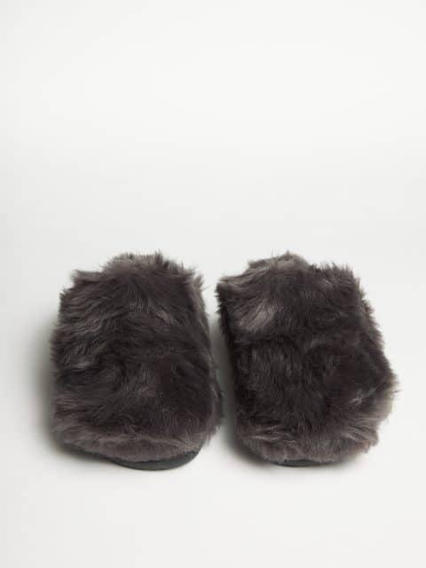 Muton Antracita Slippers en Loyna Shoes