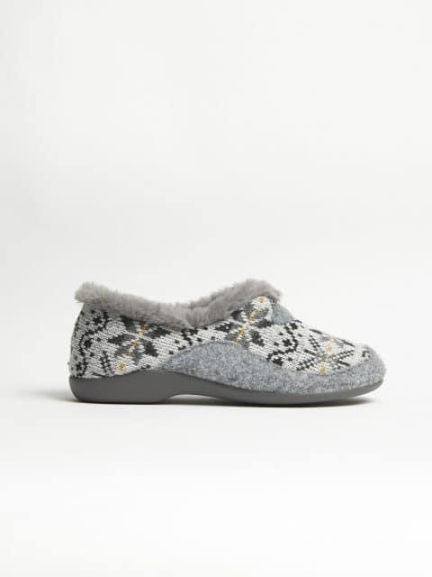LANA ELENA GRIS Garzón en Loyna Shoes