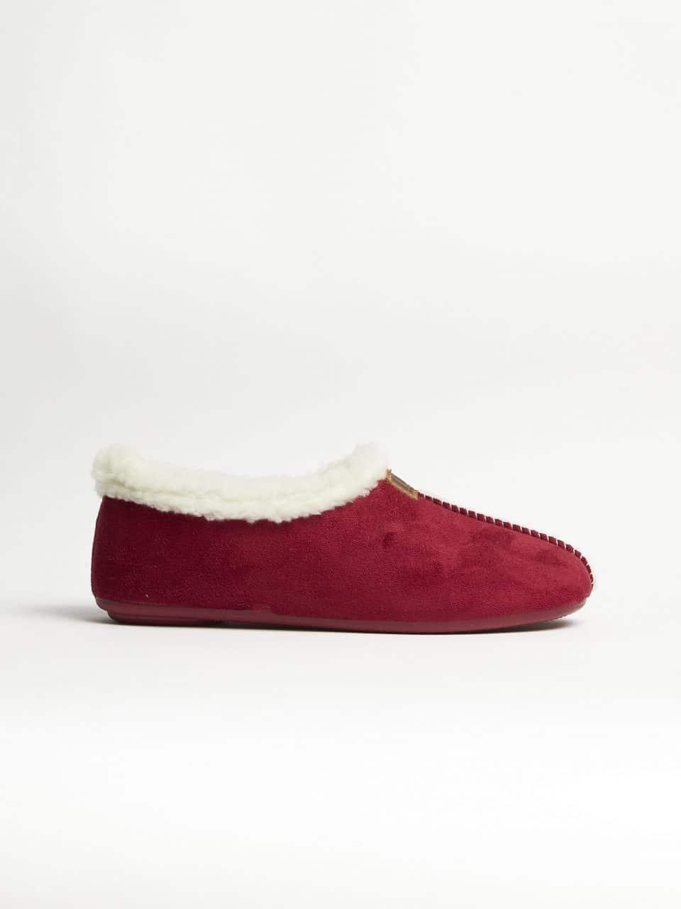 BABUCHA BURDEOS Norteñas en Loyna Shoes
