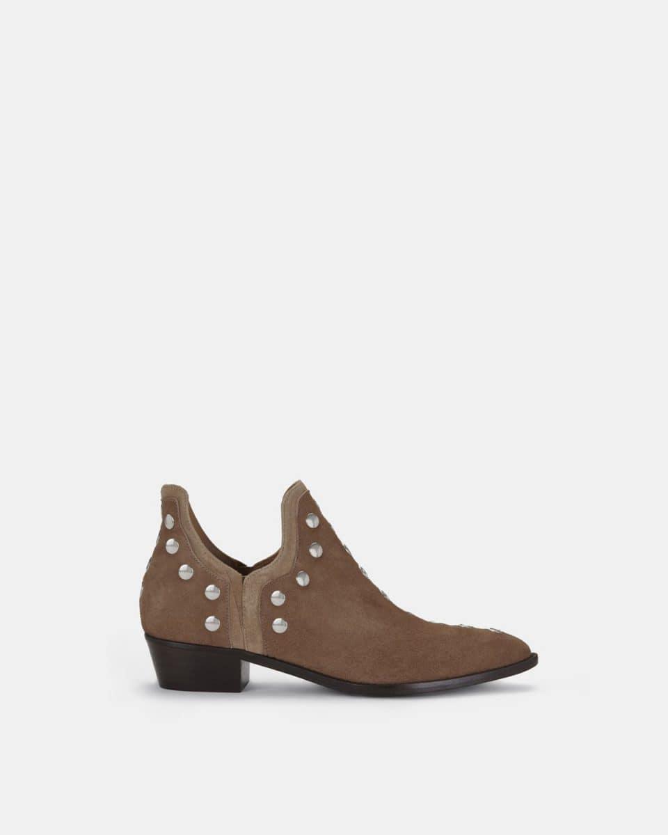 PUNKY BOOTS ANTE BEIGE Botines en Loyna Shoes