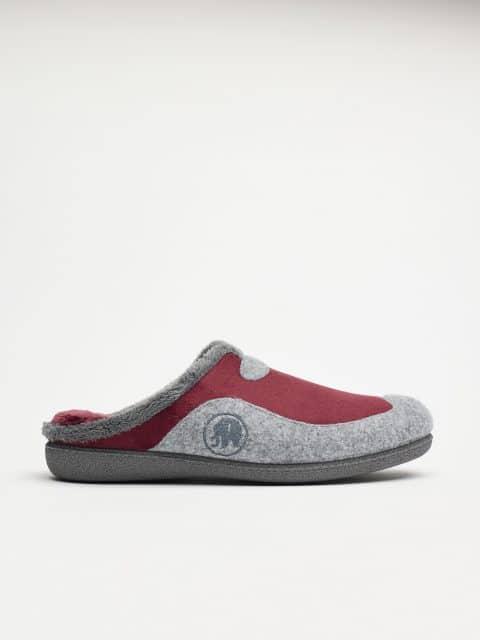 ZUECO ALASKA BURDEOS Garzón en Loyna Shoes