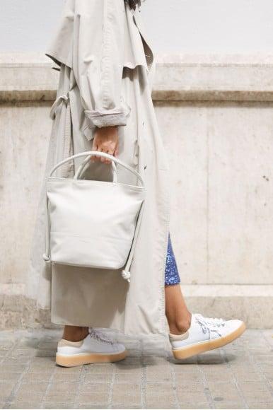 Marianne Blanco Mint & Rose Sneakers en Loyna Shoes