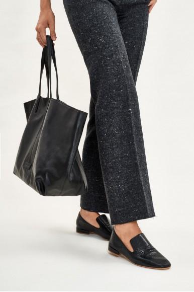 Positano Negro Bolsos en Loyna Shoes