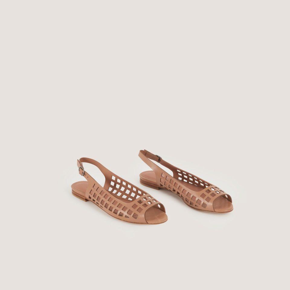 Manoletina Malababa Camila maquillaje oscuro Malababa en Loyna Shoes