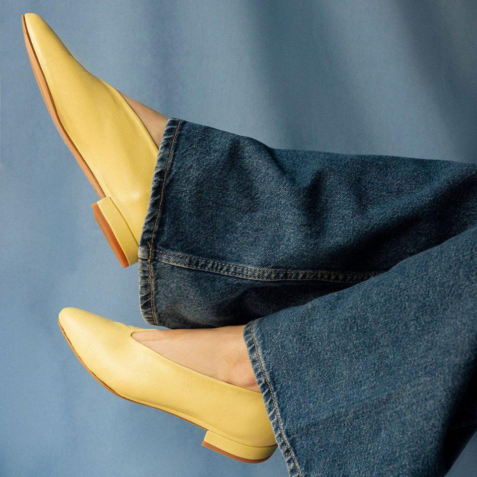 Ramona Limone Malababa Zapatos en Loyna Shoes