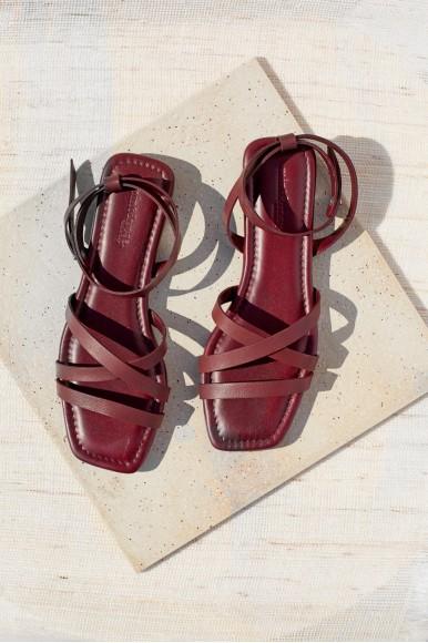 Adriana burdeos Marcas en Loyna Shoes