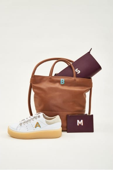 Calvia Cuero Mint & Rose Complementos en Loyna Shoes
