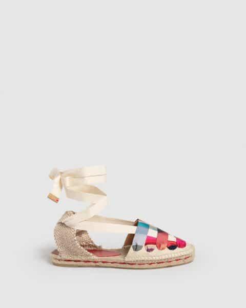 Castañer by Paul Smith. Jean. Alpargata embetada elaborada en lona Castañer x Paul Smith en Loyna Shoes