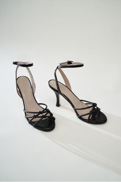 Marlene Cristal Negro Marcas en Loyna Shoes