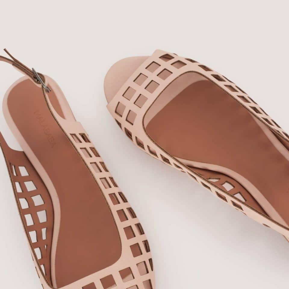 Manoletina Malababa Camila cuarzo Malababa en Loyna Shoes