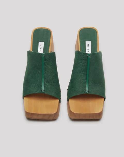 HANNAH BUISSON NUBUCK CLOGS Rebajas en Loyna Shoes