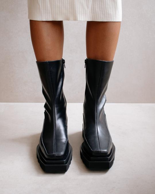 Bloque Total Black Alohas en Loyna Shoes