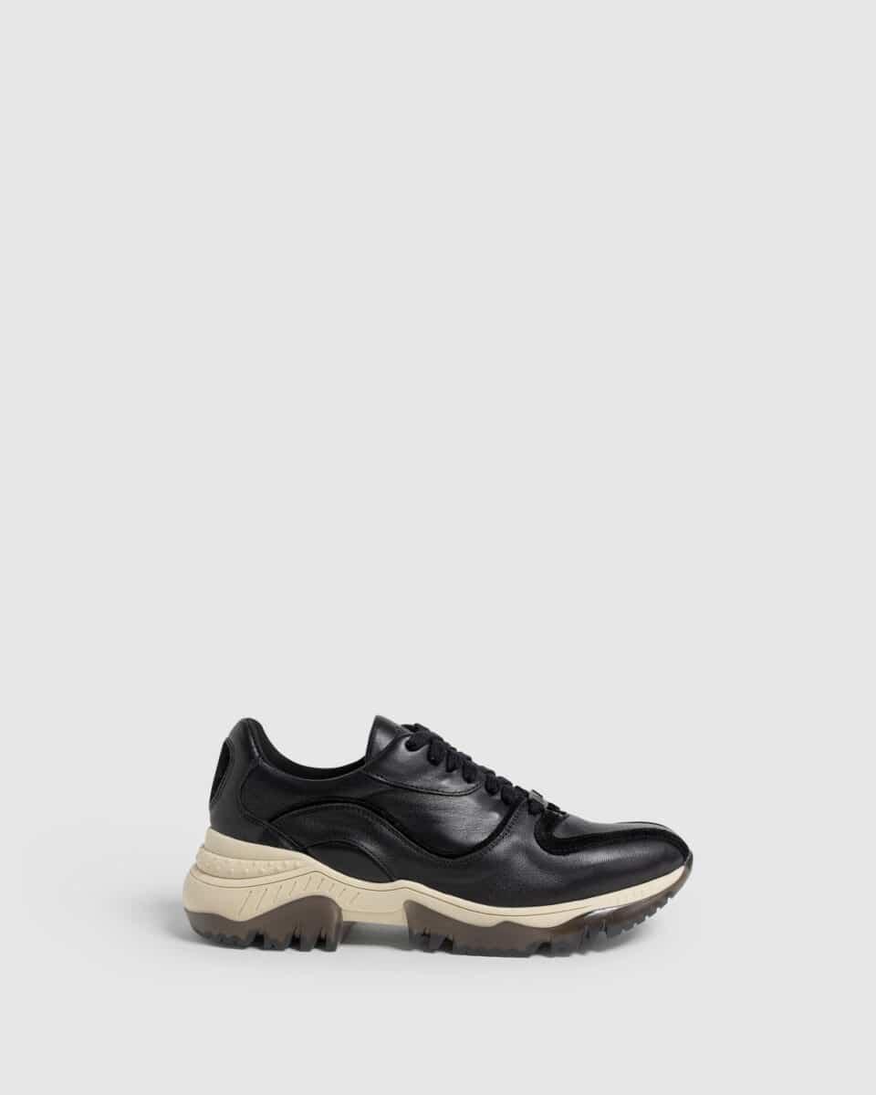 Oriente. Sneaker elaborada en napa 3cm Castañer en Loyna Shoes