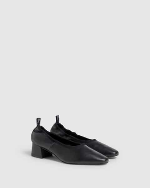 Castañer Tadea negro. Zapato de salón elaborado en napa 4cm Castañer en Loyna Shoes