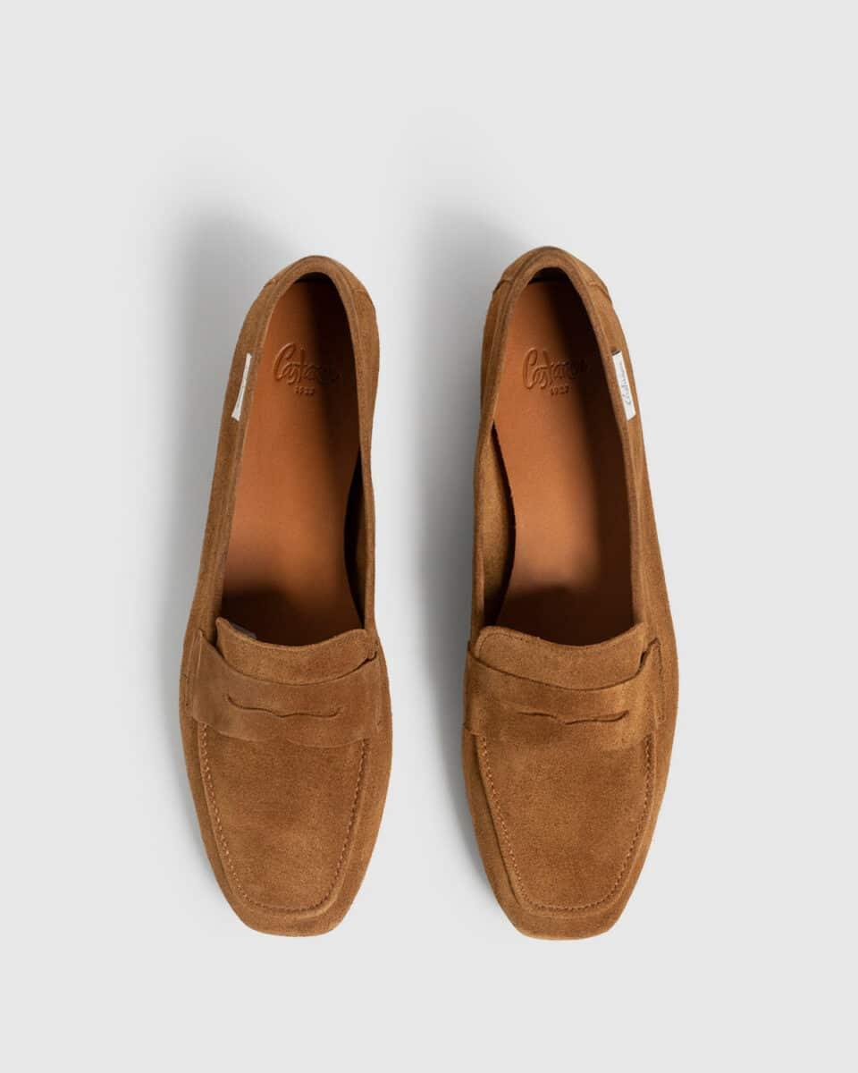 EVITA CUERO Castañer en Loyna Shoes