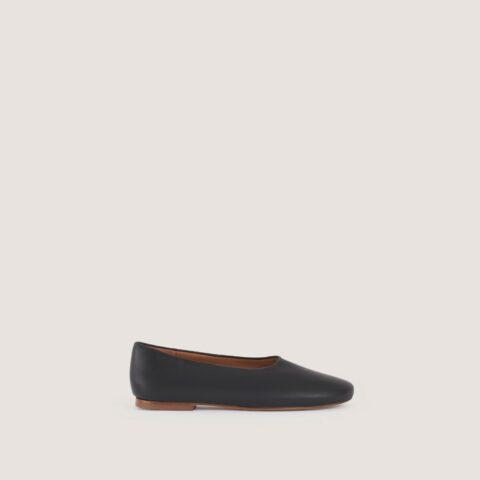 Bailarina Malababa Negro Dulcinea Bailarinas en Loyna Shoes