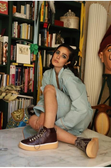 Marianne Bota Burdeos Marcas en Loyna Shoes