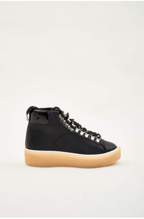 Marianne Bota Negro Marcas en Loyna Shoes