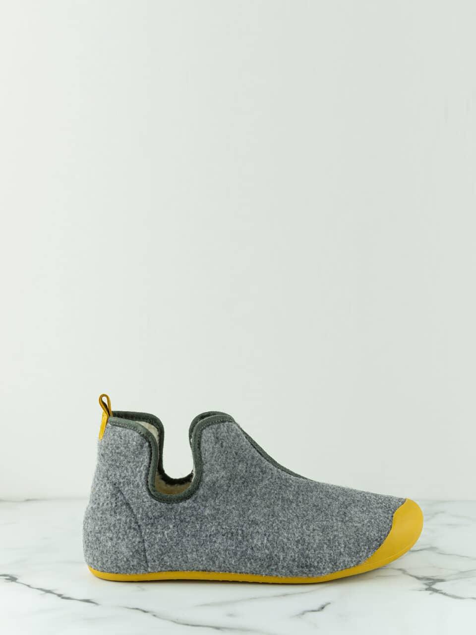 BOTIN ARTIK GRIS MOSTAZA Marcas en Loyna Shoes