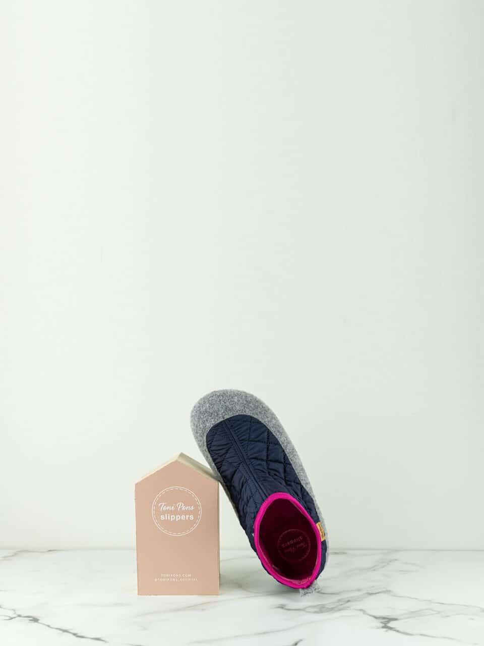 MARE-UM NAVY Marcas en Loyna Shoes