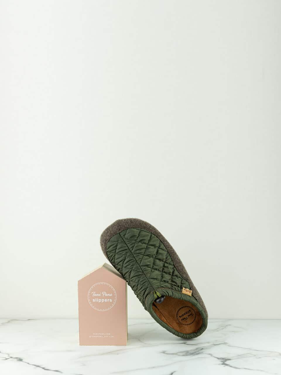 NADIR-UM KAKI Marcas en Loyna Shoes